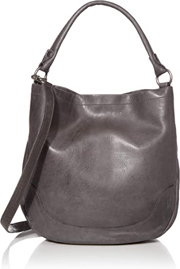 FRYE Samantha Studded Leather Hobo Bag