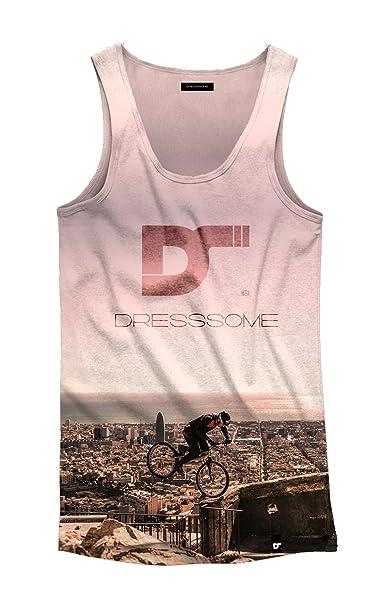 Hombre Mujer Camiseta Dresssome De Diseño Tirantes Para Y Con QrCBoedxW