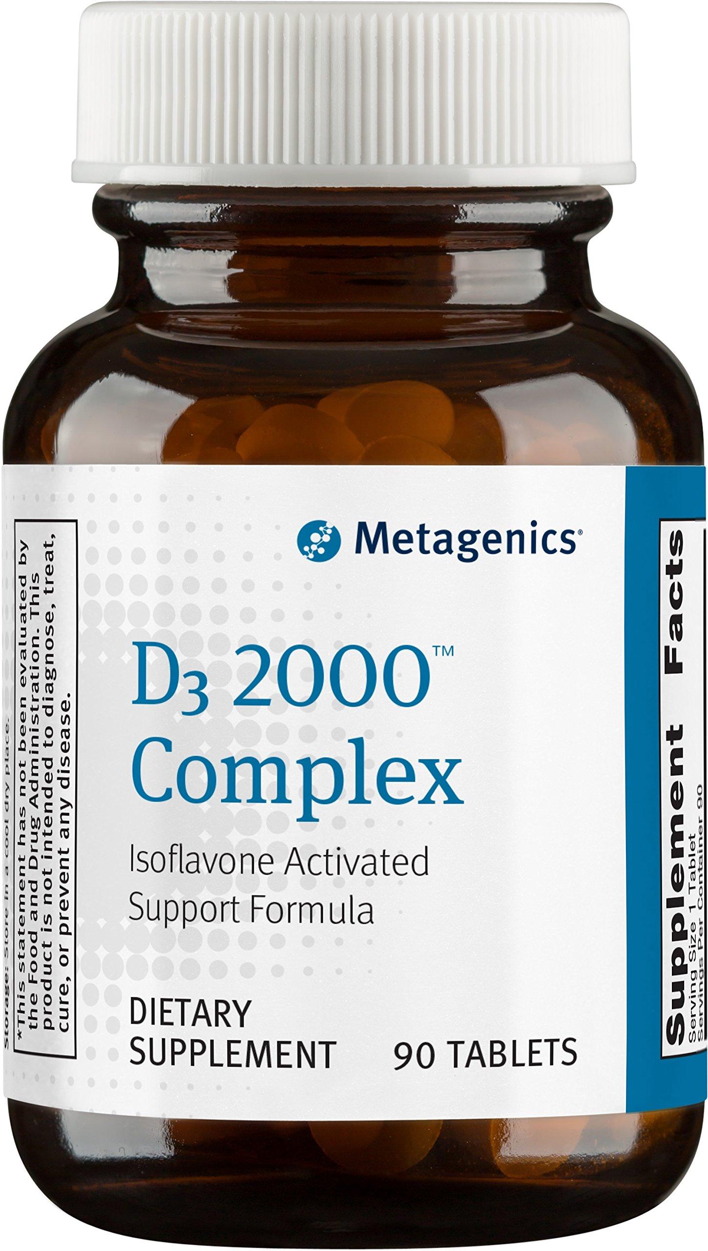 Metagenics - D3 2000 Complex, 90 Count by Metagenics