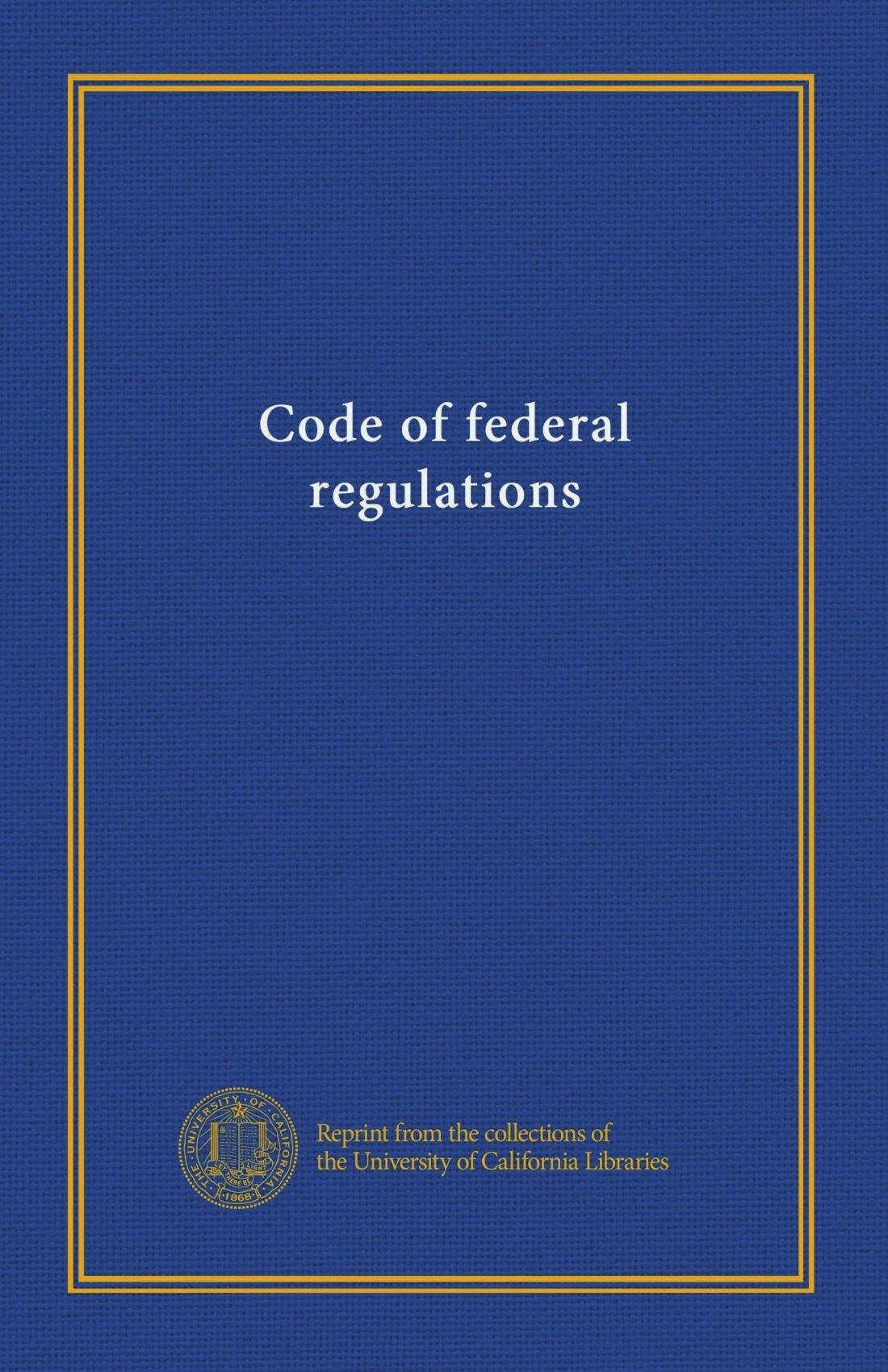 Download Code of federal regulations ((Title) 47:80-end 1969) ebook
