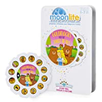 Moonlite Goldilocks and The Thee Bears Story Reel for Storybook Projector, for Ages 1 and Up