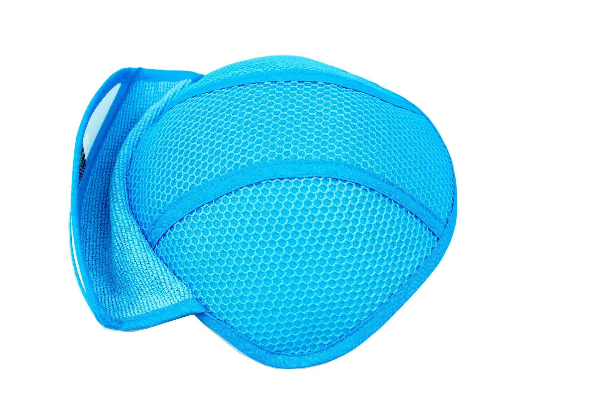 MegaTrue 3PCK Hard Hat 3D Air Mesh Insert Cooling Pad (Microfiber) by Cooling gear (Image #4)