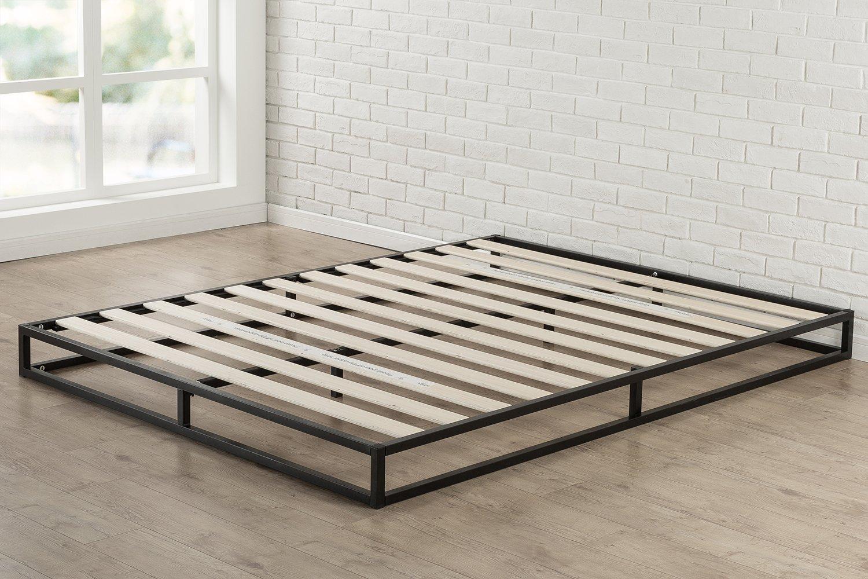 Zinus Modern Studio 6 Inch Platforma Low Profile Bed Frame, Mattress Foundation, Boxspring Optional, Wood slat support, Twin by Zinus (Image #3)