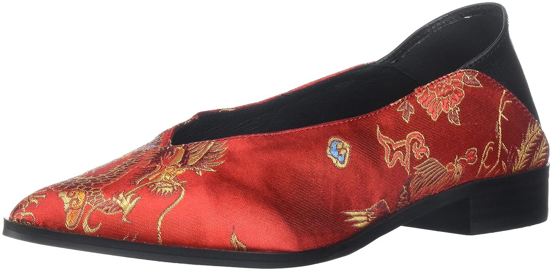Shellys London Women's Gladys Ballet Flat B071GRY4D8 38 M EU (7.5 US) Red Dragon
