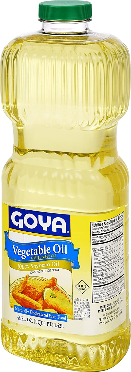 Amazon.com : Goya Foods Vegetable Oil, 48 Fluid Ounce (Pack of 9) : Grocery & Gourmet Food