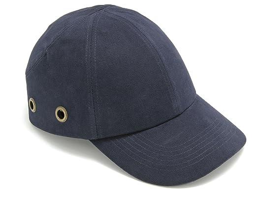 Baratec - Gorra de seguridad, diseño deportivo, color azul: Amazon ...