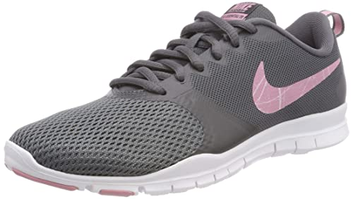 4dc90f169a Nike Women's Flex Essential Tr Fitness Shoes, (Dark Grey/Elemental  Pink-Barely