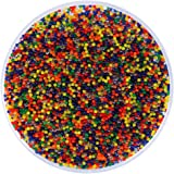 Auveach 10000PCS Colorful Magic Soil Beads Plant Water Balls Soft Crystal Pistol Toys Gift Multicolor