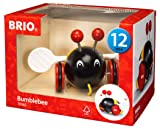 BRIO Pull Along Bumble Bee Baby Toy