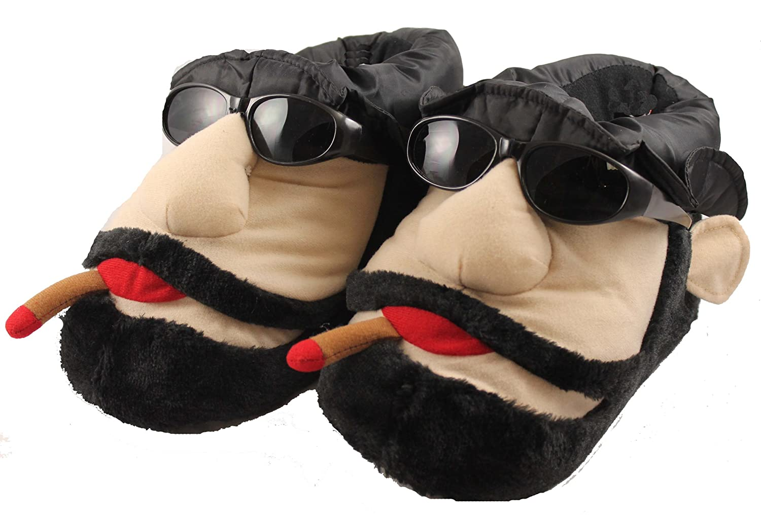Mens Cigar Man Novelty Funny Big Slippers Size 7 to 12 UK  GREAT GIFT FOR  ALL AGES 7 UK MENS Amazoncouk Shoes  Bags