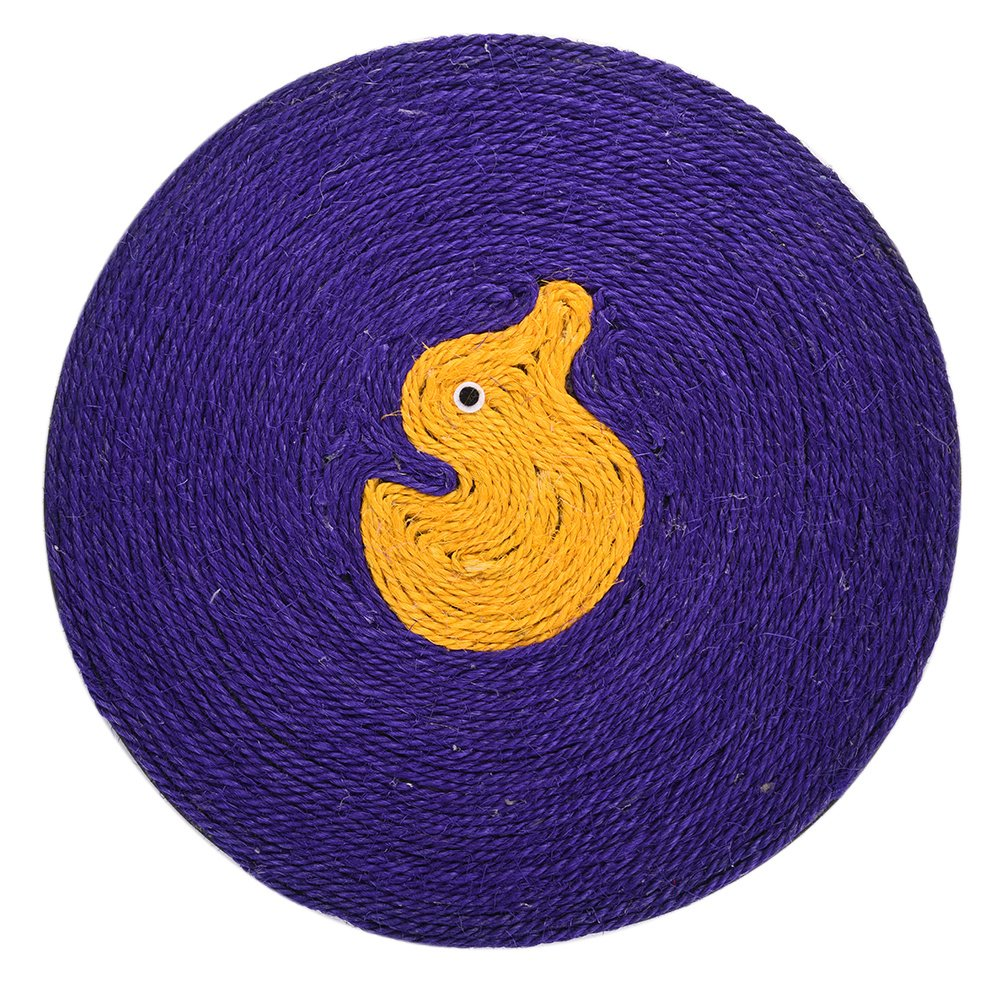 Awhao Scratch Board Durable Sisal Rope Scratch for Cats (duck)