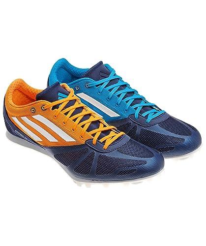 adidas Mens arriba 4 m Running Shoes Blue Blau (Solblu/Runwh) Size: