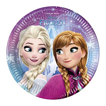 Procos 87148 u2013 Disney Frozen Northern Lights (Ø20 cm) Paper Plates Pack of  sc 1 st  Amazon UK & Procos 87148 - Disney Frozen Northern Lights (Ø20 cm) Paper Plates ...