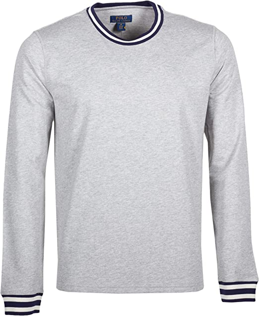 Polo Ralph Lauren - Camiseta de Manga Larga para Hombre, Cuello ...