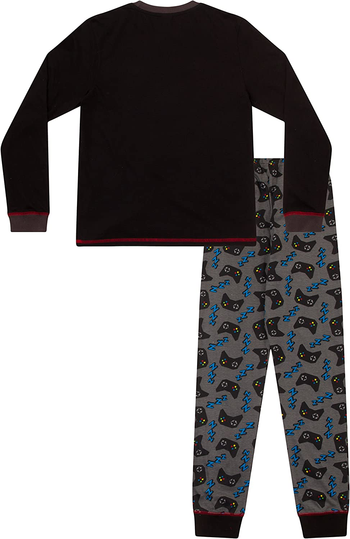 15/anni Eat Sleep Game Repeat Controller pigiama lungo da ragazzo,/taglia 8/