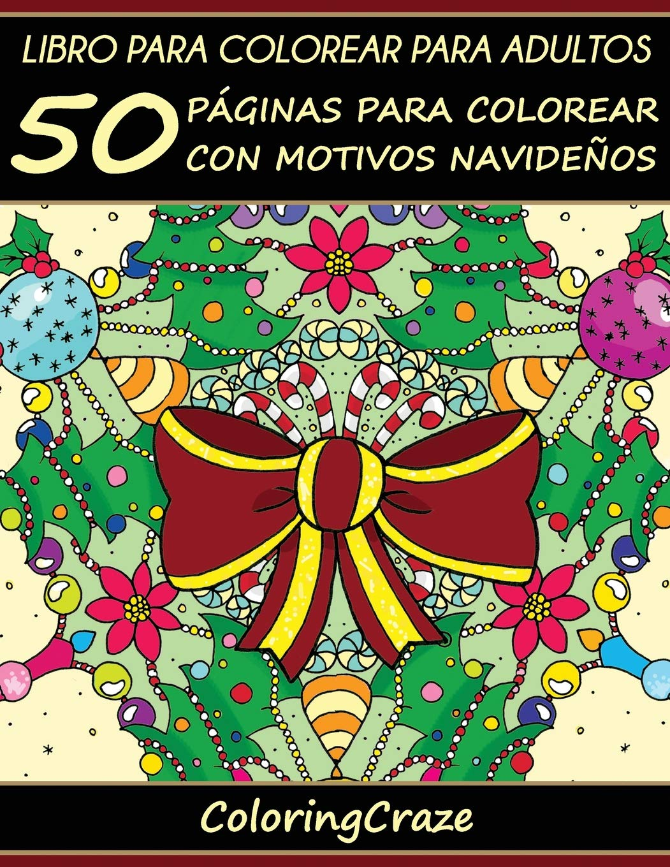 Amazon.fr - Libro de Colorear para Adultos: 50 Páginas de Colorear ...