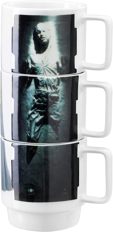 Underground Toys Stacking Slave Leia Han In Carbonite Lando Star Wars Home Mugs
