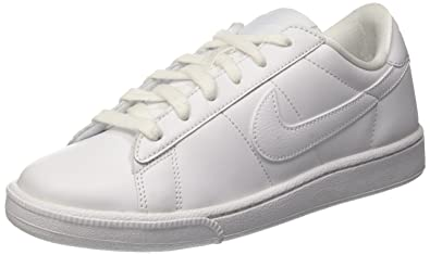 buy popular 1f41d 33a22 Nike WMNS Tennis Classic, Chaussures de Fitness pour Femme Blanc Bianco  (White White