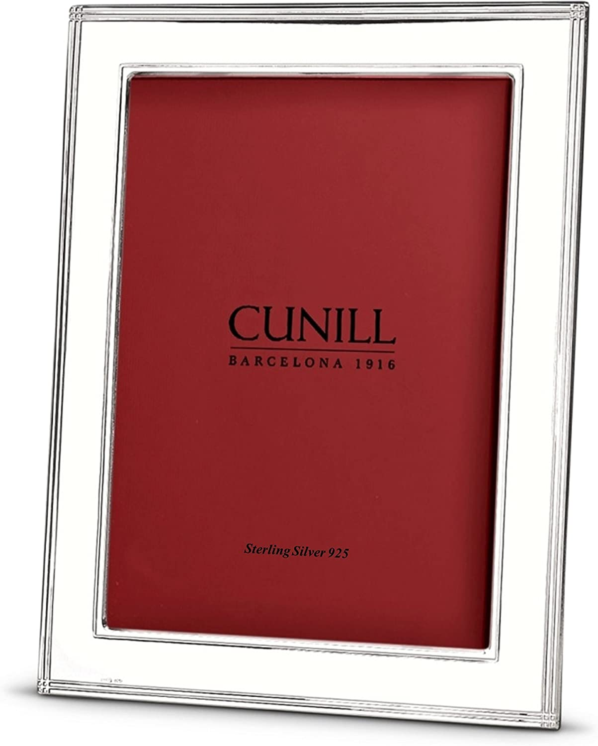 Cunill Madison 4x6 Sterling Silver Picture Frame