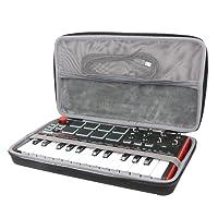 co2CREA Veranstalter Reise Lagerung Tragen Taschen Hülle für Akai Professional MPK Mini MKII Kompakter USB MIDI Keyboard & Pad Controller