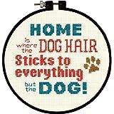 """Ingegno Stitch Mini Pet capelli contati Cross Stitch Kit-6 """"rotondo conte 14"""