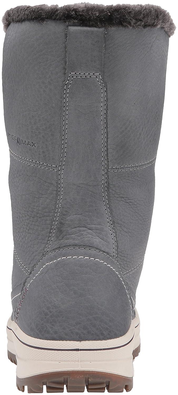 ECCO Women's Trace Tie Hydromax Snow Boot B0163GKGBW 37 EU/6-6.5 M US|Dark Shadow