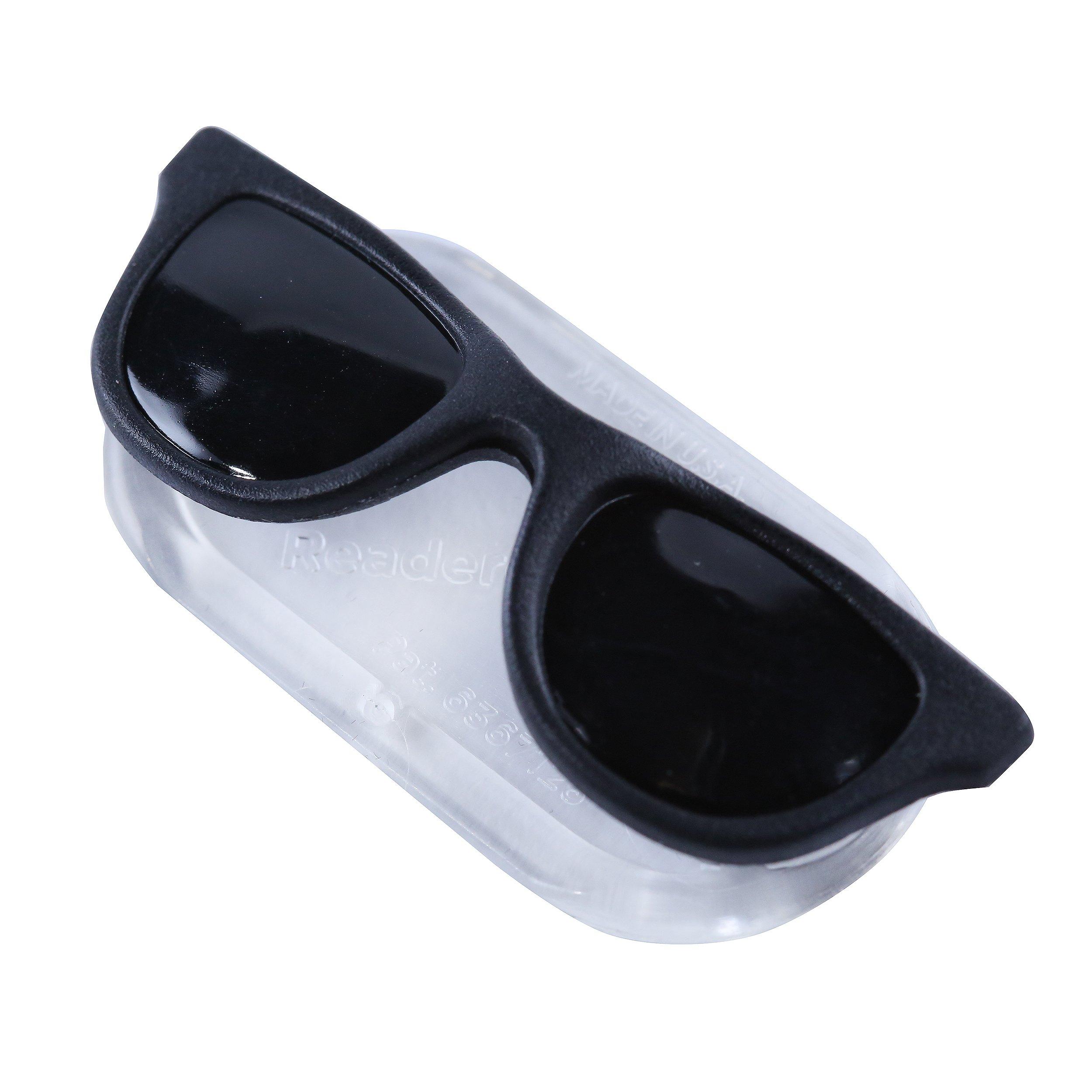 ReadeREST Magnetic Eyeglass Holder for Men & Women, Black Shades Edition