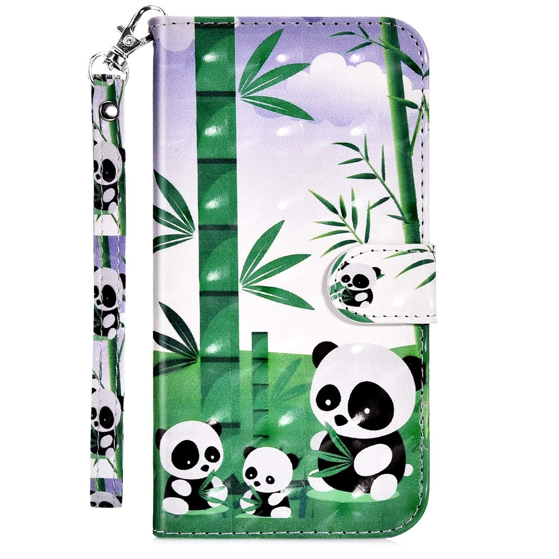 Uposao Kompatibel mit iPhone 6S 4.7 Handyh/ülle Leder Tasche Bling Glitzer 3D Effekt Gl/änzend Muster H/ülle Flip Wallet Case Brieftasche Klapph/ülle St/änder Kartenfach,Katze