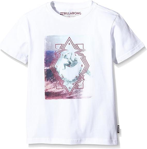 BILLABONG Volt - Camiseta para niño, Volt Boys SS, Blanco, 12 años (Talla del Fabricante: 12): Amazon.es: Deportes y aire libre