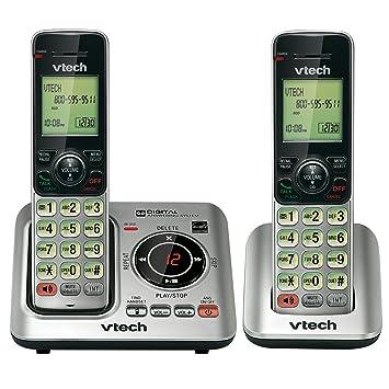 amazon com vtech cs6629 dect 6 0 1 handset cordless answering rh amazon com VTech My Laptop vtech cs6629-3 manual