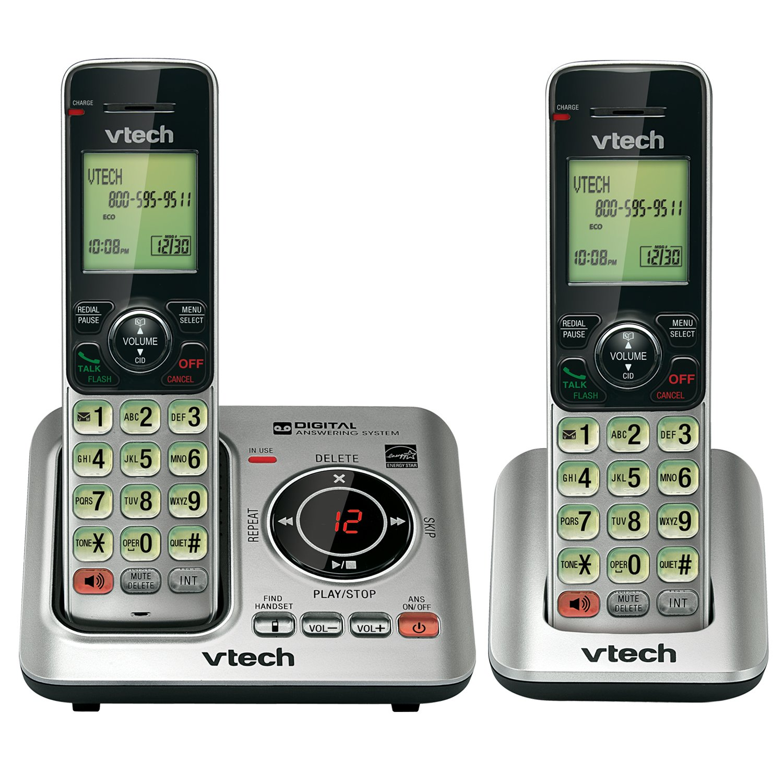 VTECH CS66292 DECT 6.0 2-Handset Landline Telephone