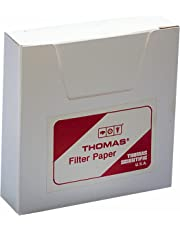 Thomas 6100-1100 Qualitative Filter Paper, 1.5 Micron, Grade, 11cm Diameter x 0.15mm Thick (Pack of 100)