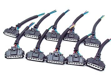 CNKF 10 Sets Toyota Yazaki 6 way car injector ... Yazaki Wire Harness on