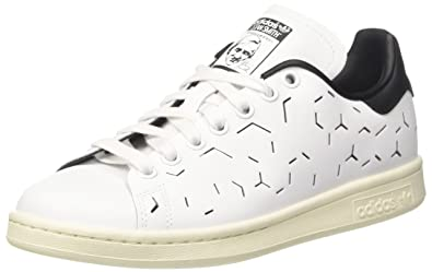 cdd7ee8e51 adidas Stan Smith, Baskets Mode Femme, Blanc Footwear White/Core Black, 36