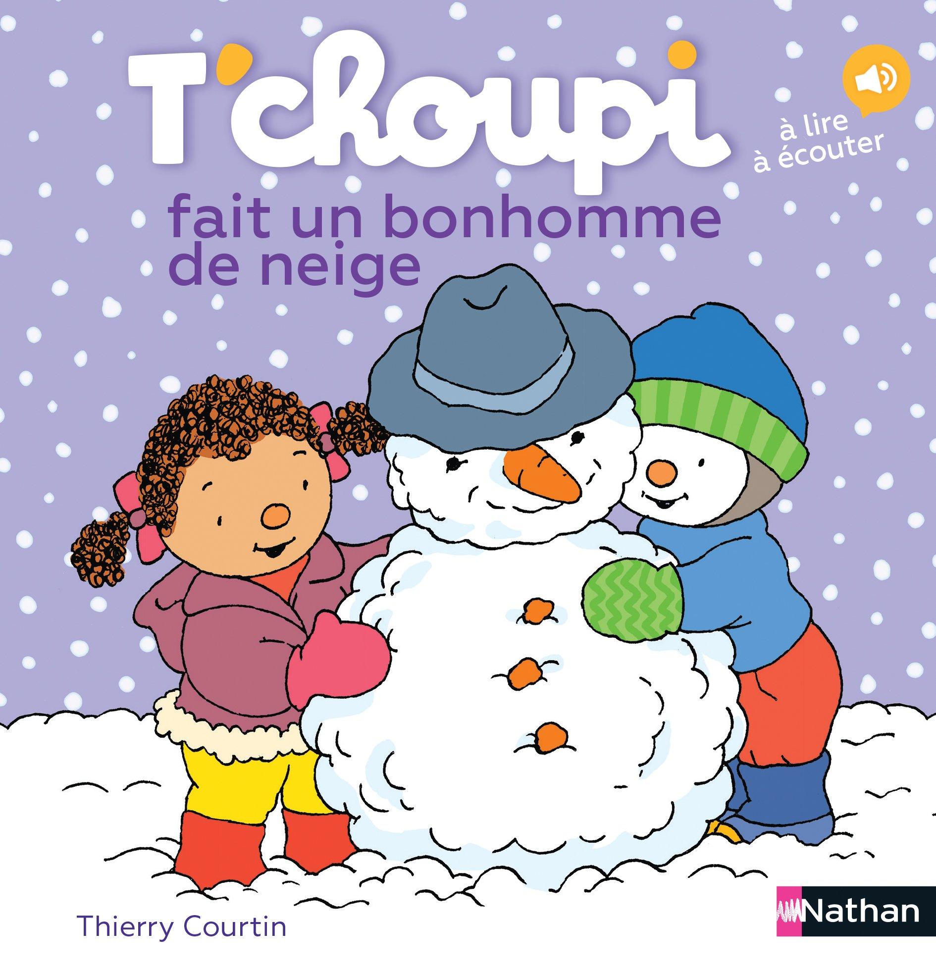 Tchoupi Fait Un Bonhomme De Neige Amazonde Thierry Courtin