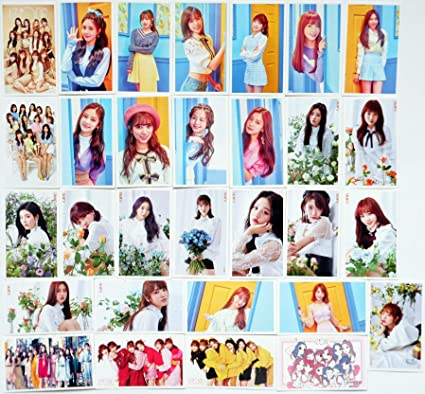 Amazon com : SV Best IZONE Girl group Kpop Lomo Cards Photo Postcard