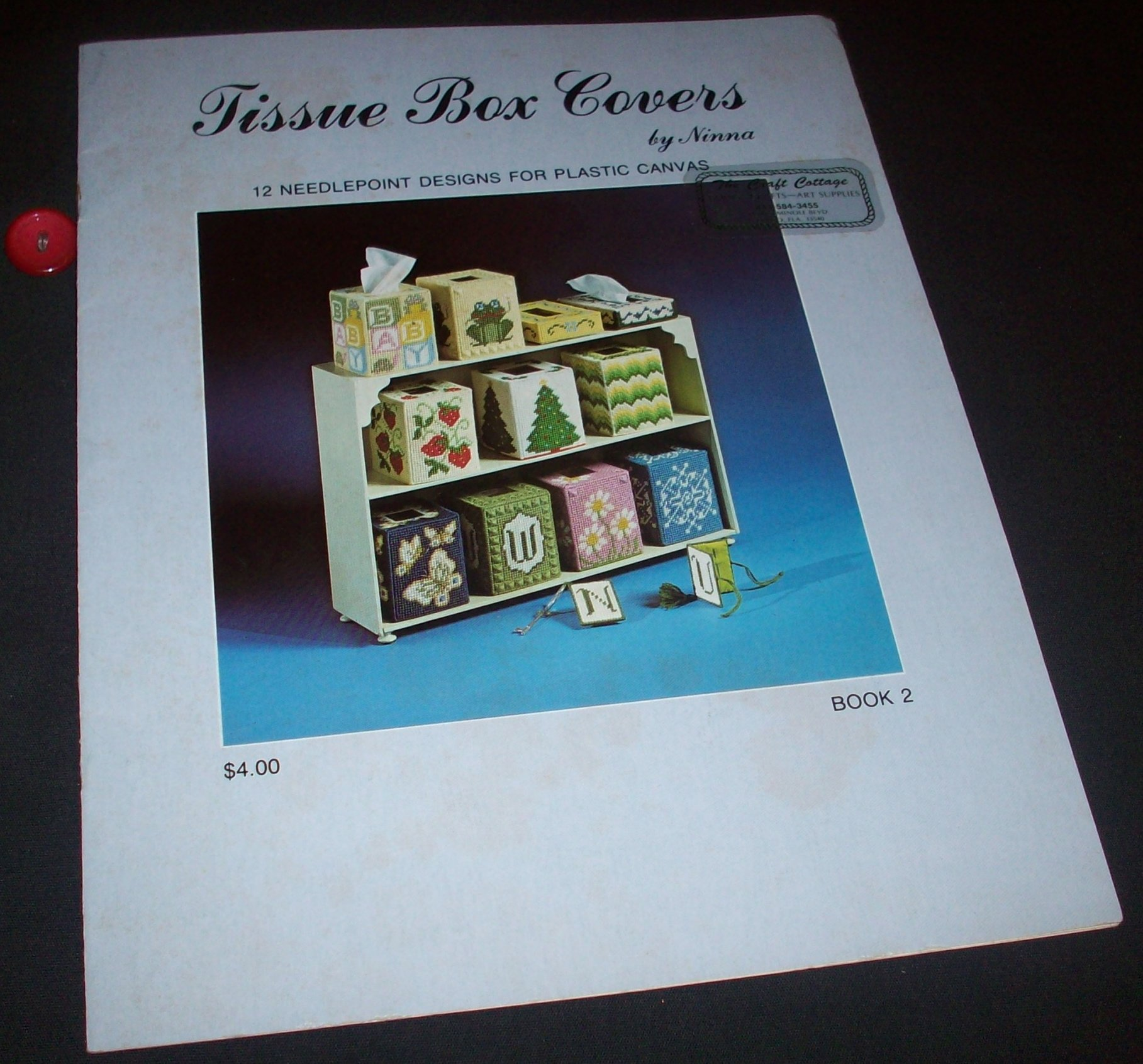 Tissue Box Covers (12 Needlepoint Designs for Plastic Canvas) Paperback – 1981 Ninna Virginia Winecoff B000WBAKU2