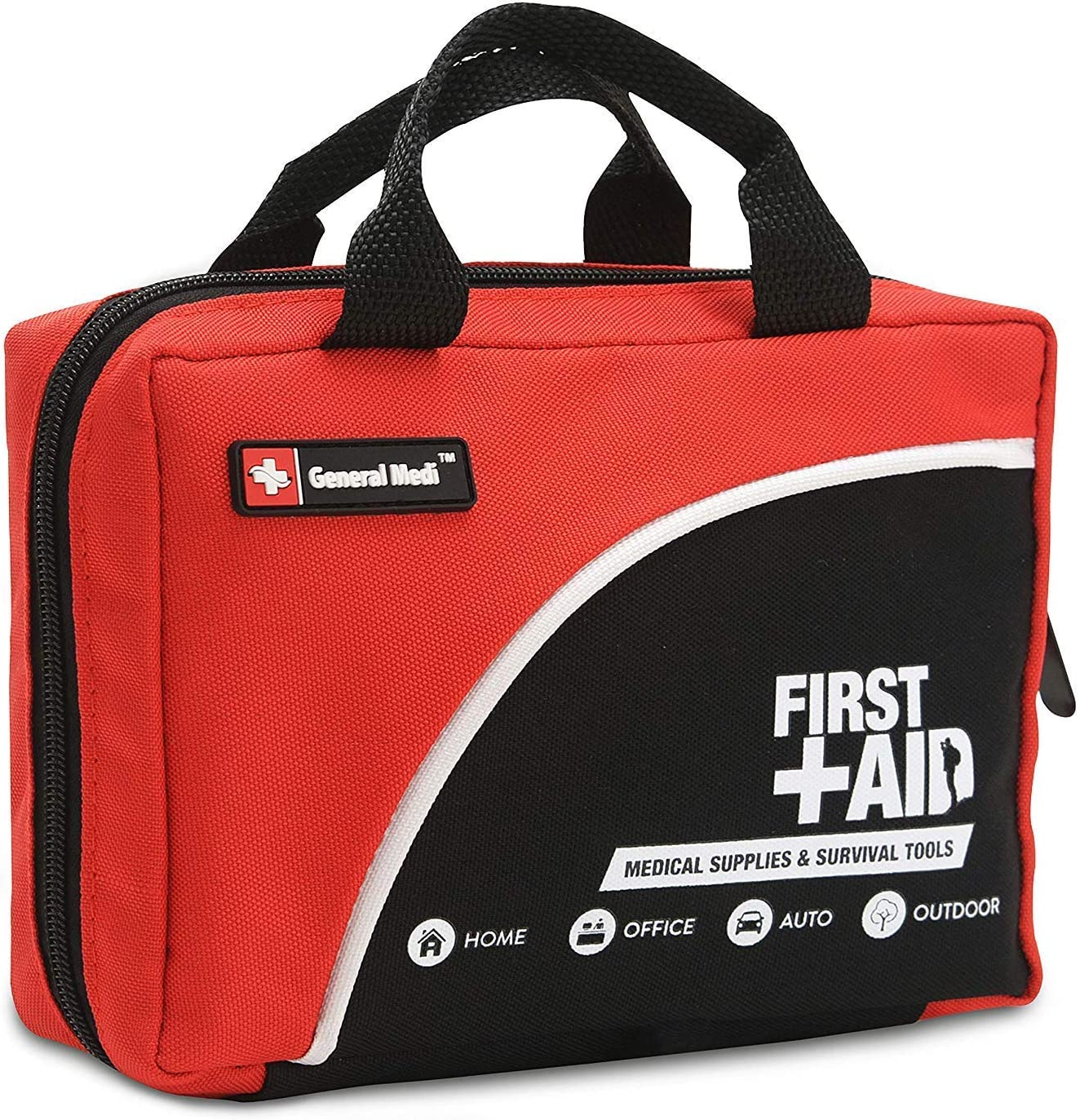 First Aid Kit 160 Pieces Compact And Lightweight Including Cold Ice Pack Emergency Blanket Moleskin Pad Perfect For Travel Home Office Car Camping Workplace Health Personal Care Amazon Com