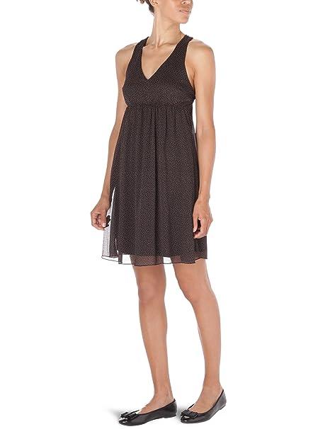 Vero Moda - Vestido con puntos sin mangas para mujer, talla 34, color Negro