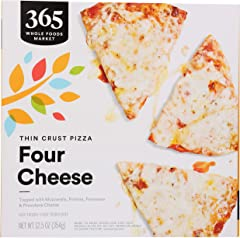 365 by WFM, Pizza Four Cheese, 12.5 Ounce