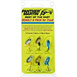 Panther Martin Best of The East Spinner Fishing Lure Kit