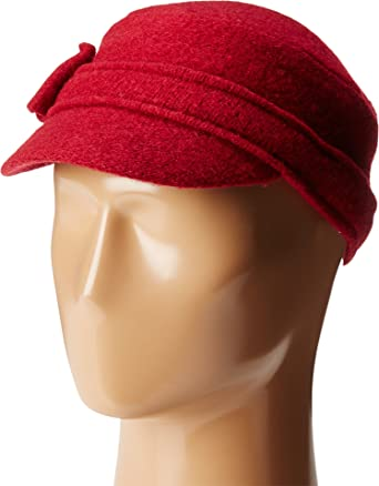 b60ae56b8c26f San Diego Hat Company Women's CTH8086 Soft Cadet with Side Bow Red Hat at  Amazon Women's Clothing store: