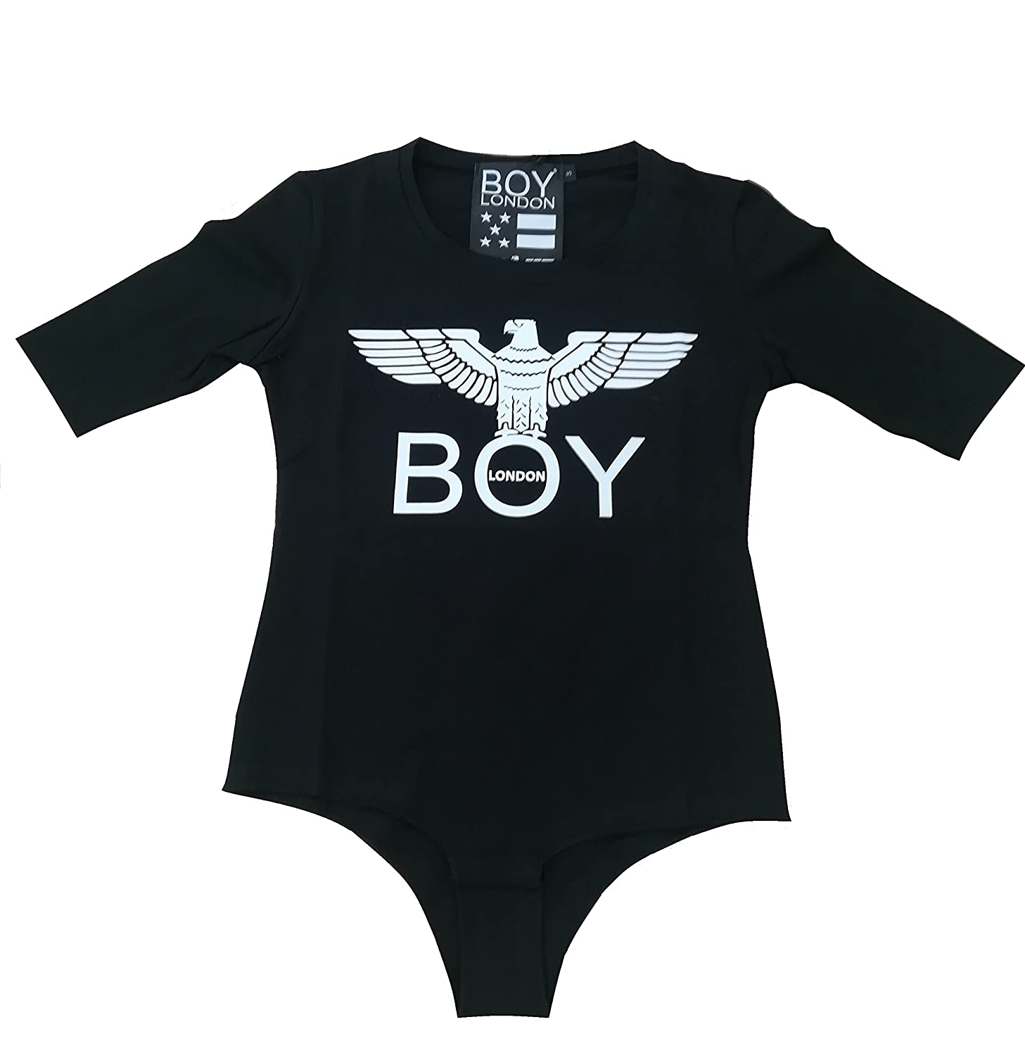 Boy London Body Manica Corta Donna Panna