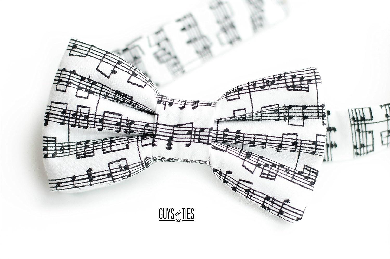 Music Bow Tie Concert Note Birth Of The Bowtiemodeldiagram Piano Recital Mens Black And White
