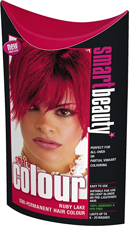 Smart Color Semi-Permanente Rojo Rubí Tinte Cabello