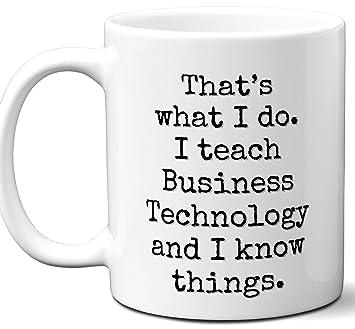 Amazoncom Funny Teacher Gifts Business Technology Teacherthats