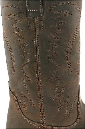 Wrangler - Botas para Hombre marrón marrón Oscuro