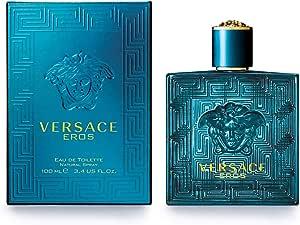 Versace Eros Eau de Toilette for Men, 100ml