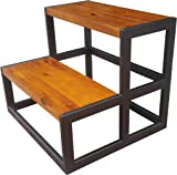 Design 59 inc Acacia Hardwood Step Stool / Bed Steps / Plant Stand NO ASSEMBLY  sc 1 st  Amazon.com & Amazon.com : IKEA - MOLGER Step stool birch : Toilet Training ... islam-shia.org