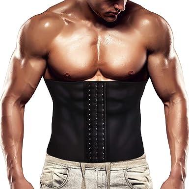 Aelegant Men Slim Waist Body Shaper Compression Sport Vest